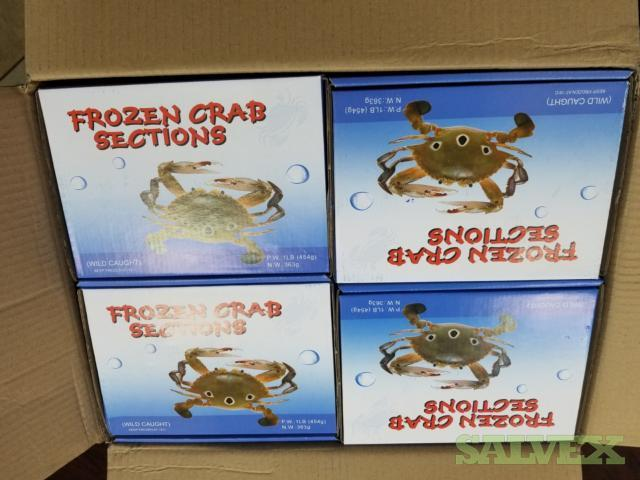Cleaned Crab Sections (1,400 Cases)