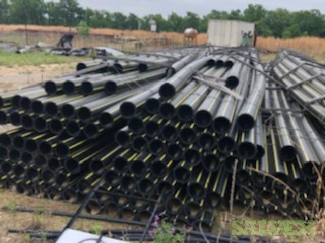6'' SDR 11 Surplus Poly Pipe - 160 PSI Rated (20,000 Ft)