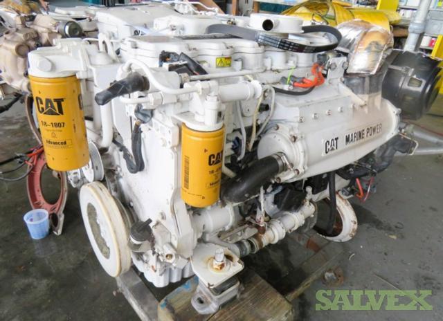 Caterpillar C7 Yacht Engines (2 Units)