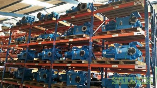Hamworthy Miscellaneous Pumps c/w Electric Motors (40 Units)