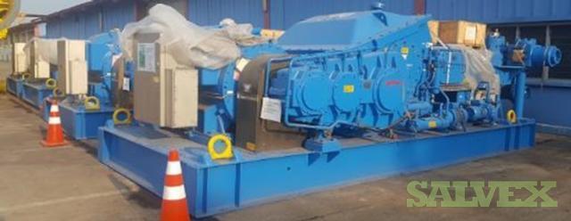 Aker Solutions Wirth HP Mud Pumps - Type TPK 7 1/2 x 12 / 1600 - 7500Psi (4 Units)