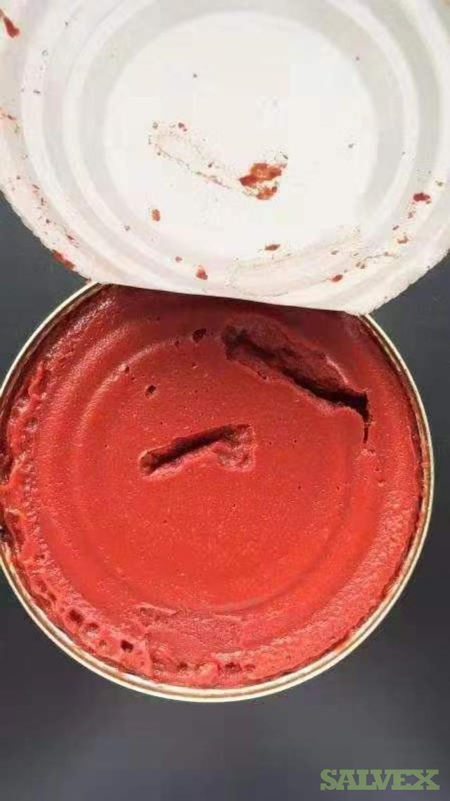 Canned Tomato Paste 179,388 Kgs