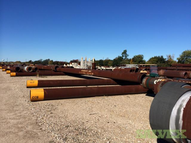 22 .750WT X80 S-90M Surplus Line Pipe (80 Feet / 6.18 Metric Tons)