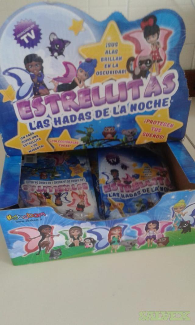 Toys Stock Lot Mini Figures Stelline Della Notte (144,350 Pieces)