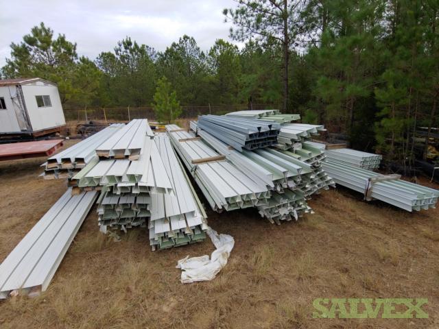 Painted Steel Versa - Deck 24 Wide, 3 1/2 Deep, 25-35ft Long