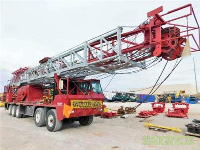 Taylor TI550 Work Over Service Rig 2007 (1 Rig)