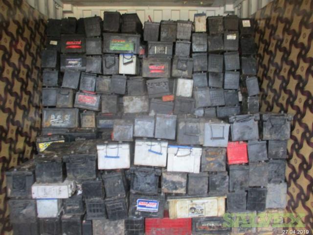 Scrap Lead Batteries (26MT)