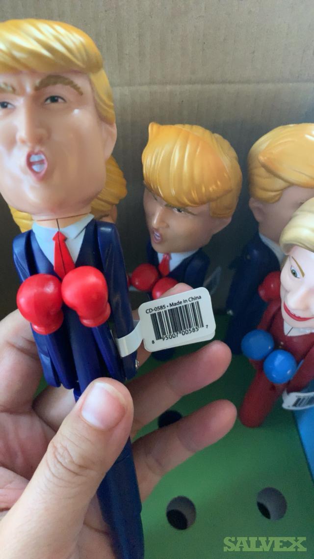 Donald Trump / Hillary Clinton Talking Pen Smack Talk Boxing Ball-point Pen - No Batteries/ Drained  (690,000 Units)