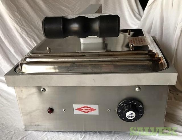 Intedge G150-1 Commercial Panini Sandwich Grill (13 Units) in New Jersey
