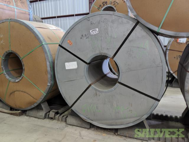 High Strength Low Alloy Hot Rolled P&O Steel Coils (1,677,115 Lbs / 760,726 Mt / 41 Coils)