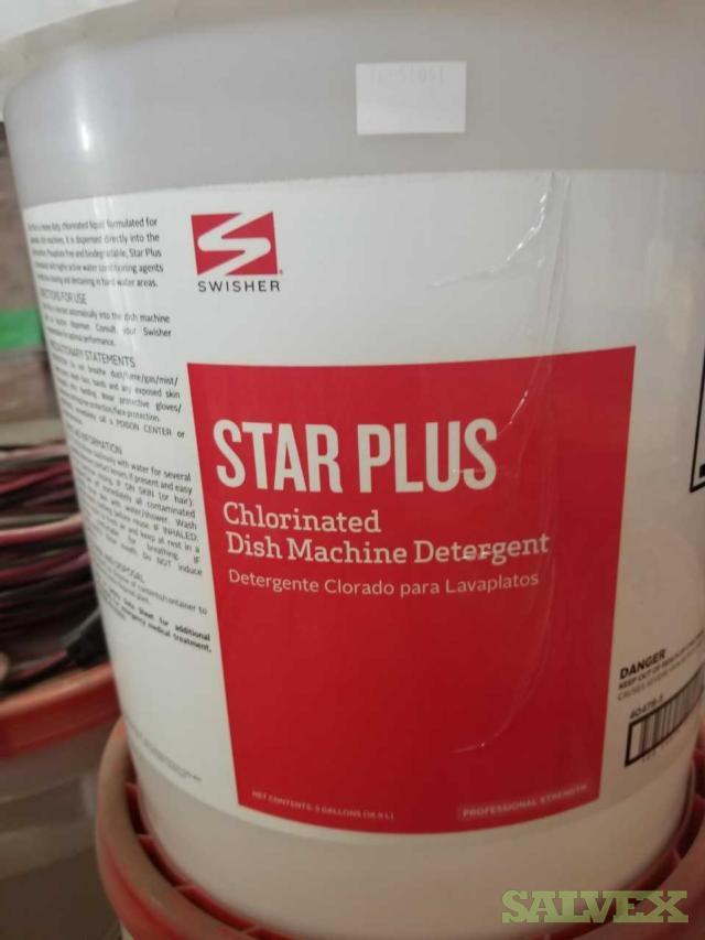 Commercial Cleaning Chemicals: Dish Detergent, Stain Remover, Degreaser, Floor Stripper, CIP Cleaner