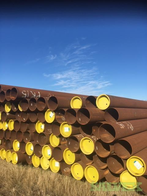 12 0.220WT 359 CAT II ERW Surplus Line Pipe (11,634 Feet / 146.44 Metric Tons)