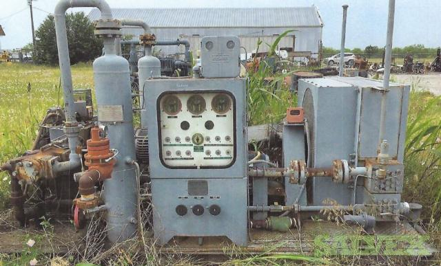 Two-Stage Gas Electric Compressors - 6 Units