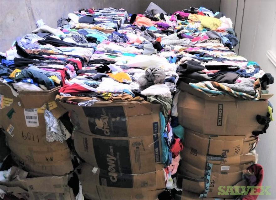 40 Bales of Mixed Clothing (43,847 Lbs)