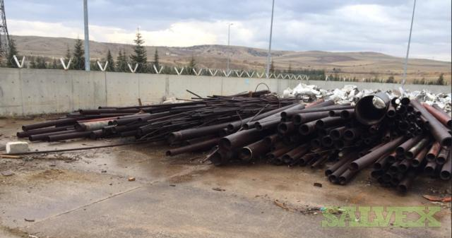 Carbon Steel and Alloy Seamless Pipe - Various Sizes and Lengths (126.7 MT)