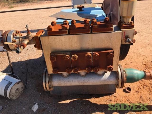 Becker Industries BK-P200 Reciprocating Triplex Plunger Pump (1 Set)