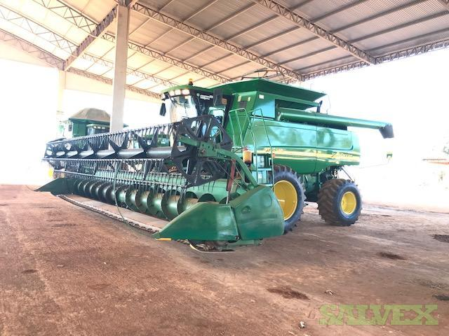 Agriculture Harvest Machines: John Deere Grain Harvest Axial JD 9750 STS 2003 & 2004 (22 Units)