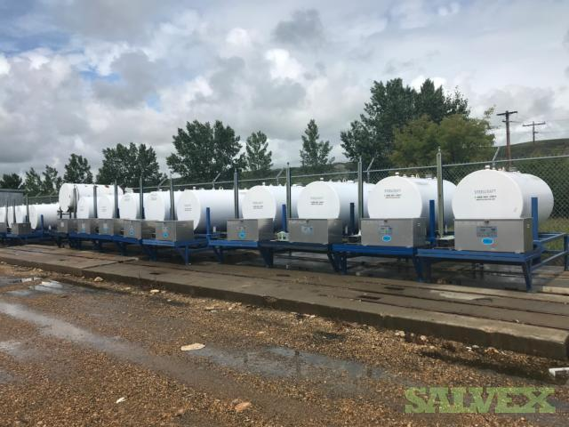 JLC, Zimco and ICIP Water Methanol Injection Tanks (46 Items)
