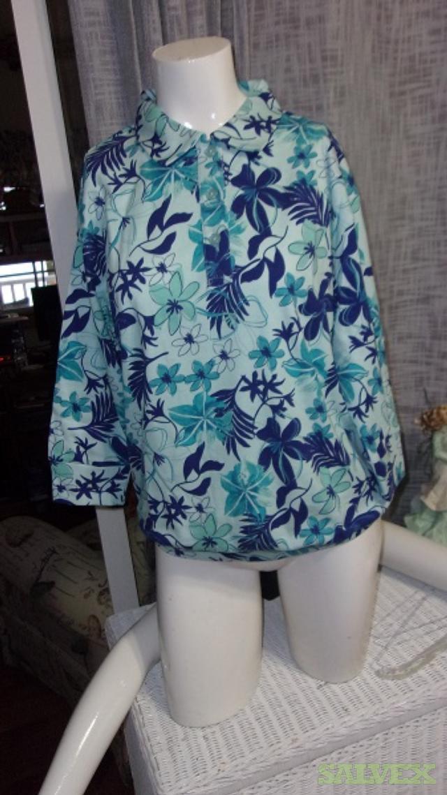 Ladies Blouses, Dresses, Pants Mix sizes and Colors (shelf pulls) -300 Units