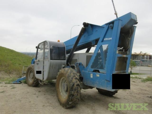 Genie GTH1048 Forklift - Rough Terrain Telehandler 2006