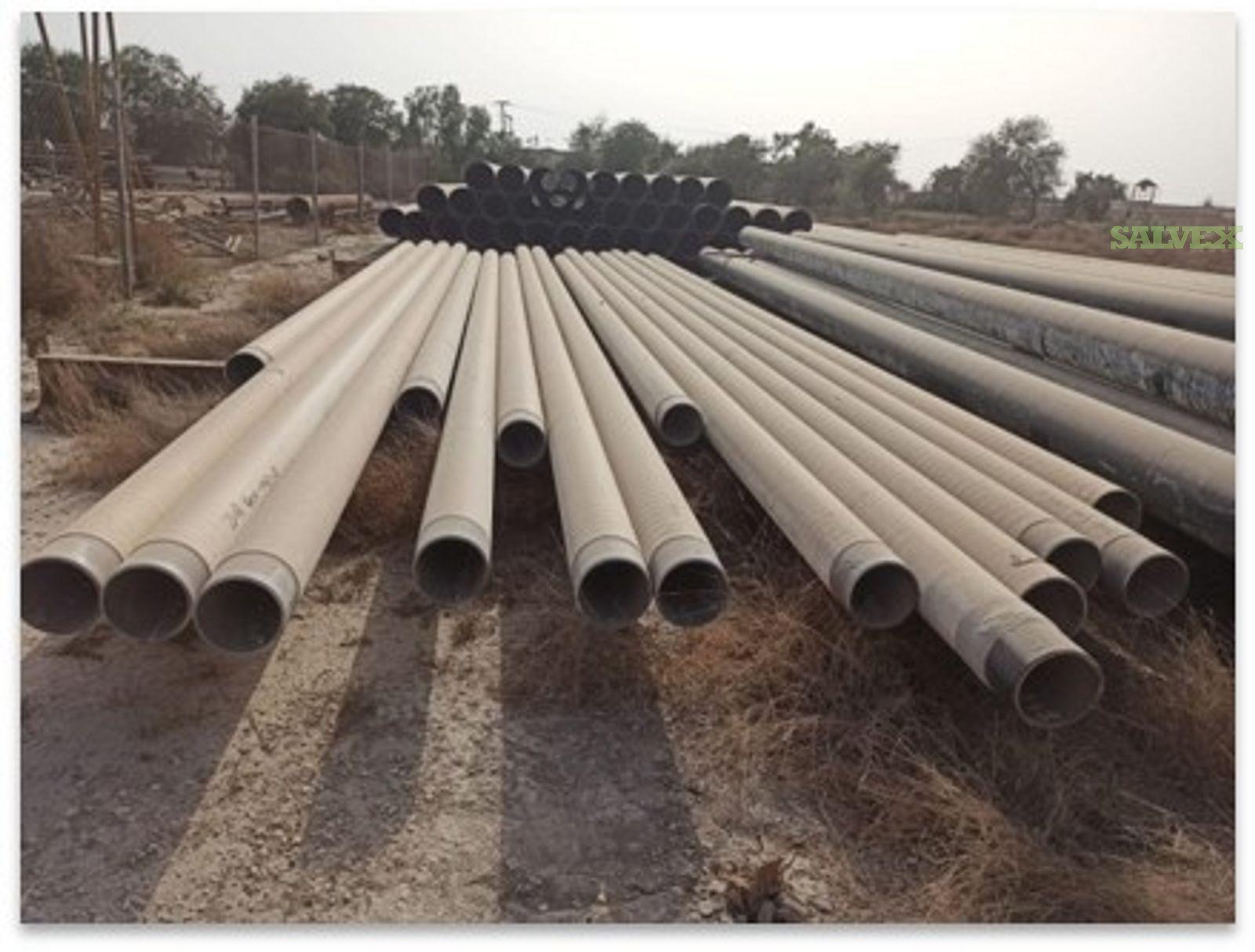 8 27.09# 22CR Used Flow Line (65,617 Feet / 806 Metric Tons)