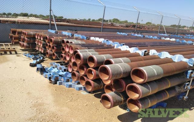 6 15.48# Surplus Line Pipe (78,740 Feet / 553 Metric Tons)