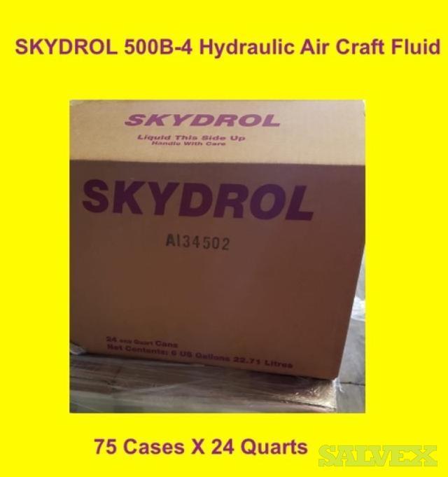 Eastman Skydrol 500B-4 Aviation Hydraulic Aircraft Fluid (72 Cases)