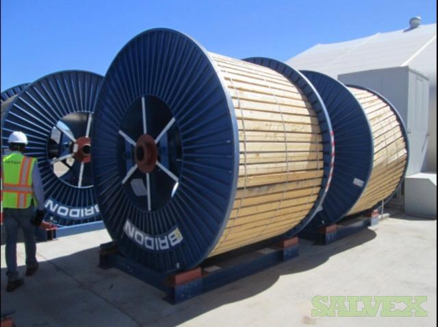 Bridon Tiger 34LR VMAX Galvanized Galloway Stage Wire Ropes - for Elevator Shafts and Mining (7,800 Feet // 1 Reel)