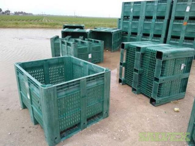 MacX HDPE Plastic Harvest Bins (983 Units) in Texas