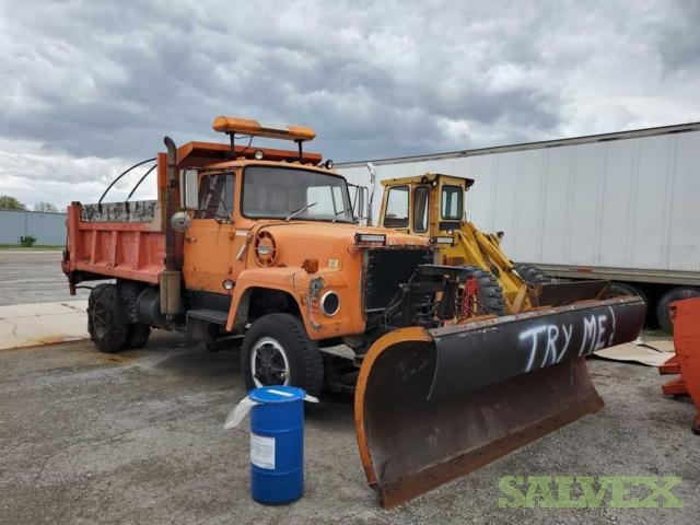 Ford K81D Dump Truck, Strick 28' Trailer , Fruehoff 28' Trailer, and Strick Dry Van Training Trailer (4 Units)