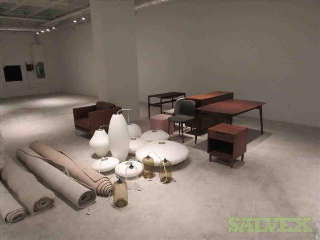 Designer Store High End Furniture - Water Damaged - (27 Pieces) in Miami