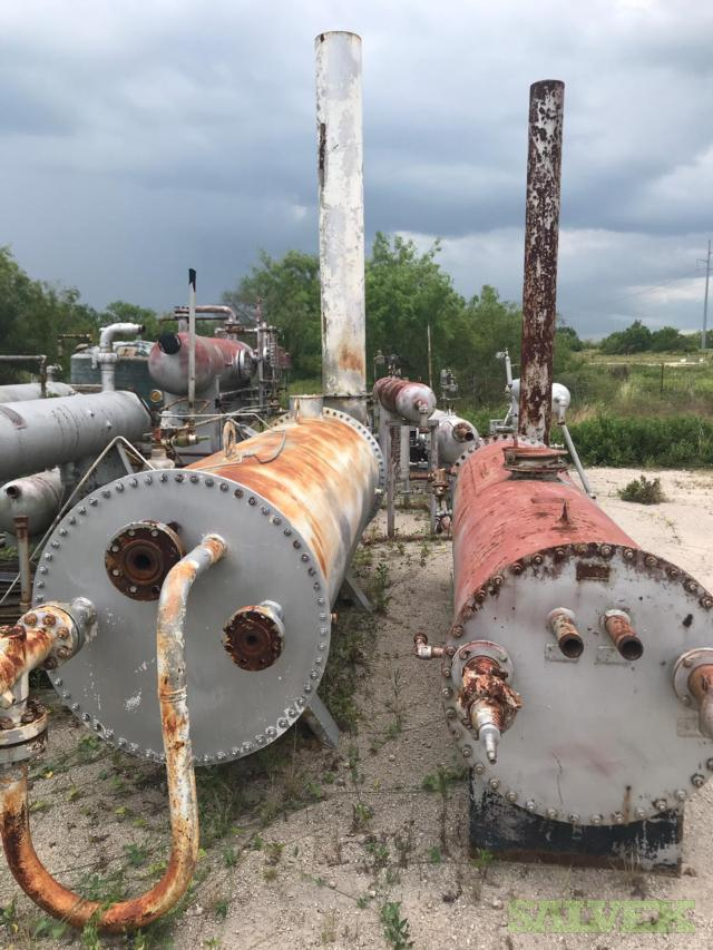 Various Equipment (Contact Tower, Compressor, Seperator, Reboiler, Contactor, Flame Arrested Burner) (32 Items)