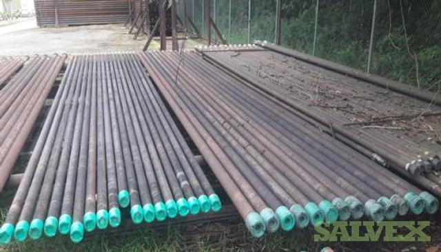 3 1/2- 20 Surplus Casing & Tubing (146.83 Metric Tons)