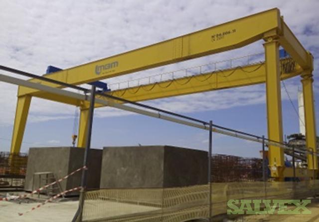 Rolling Double Beam ZLK Gantry Crane (25 Ton)