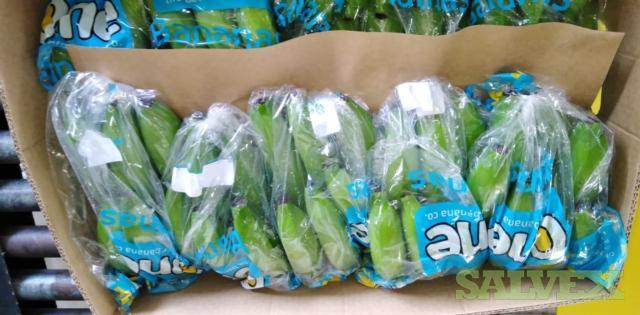 Fresh Banana of 2 Lbs Bags -1 Load of 960 Cases
