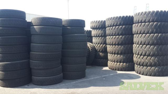 Commercial Tires - Sold As Scrap (3 x 20ft Container Loads)