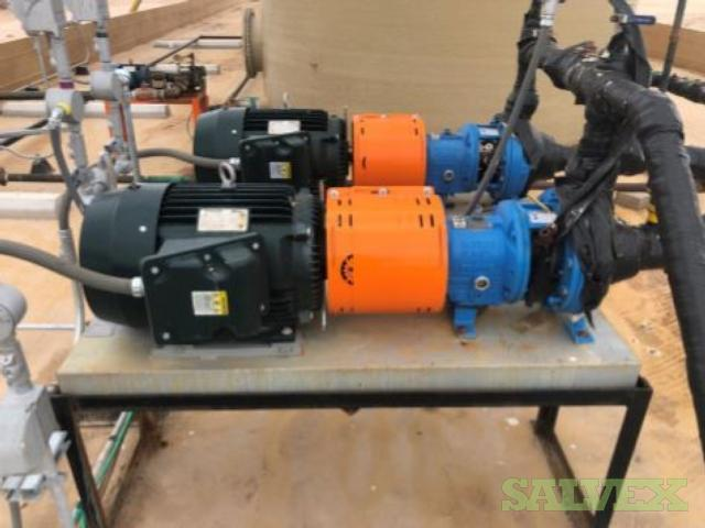 Goulds Electric Transfer Pumps 30HP with Toshiba Motors (2 Units)