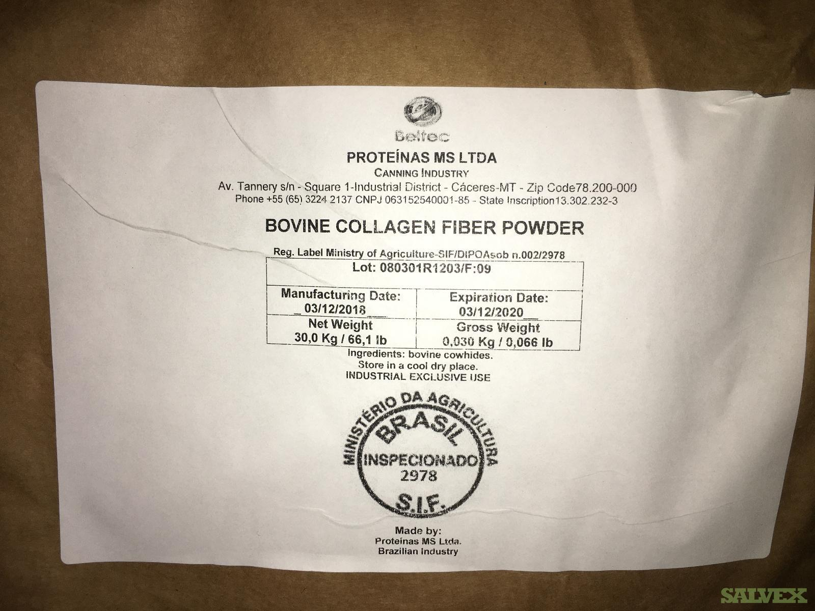 Beltec Bovine Collagen Powder (19 pallets - 338 bags - 10,140 kg )