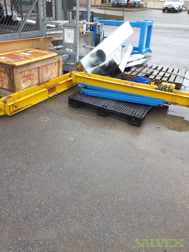 Bridge Cranes 2 Ton 480v Hoist