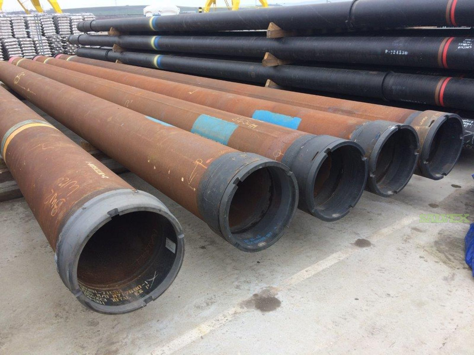 20 .625WT X65 RL4S Surplus Line Pipe (2,800 Feet / 164 Metric Tons)