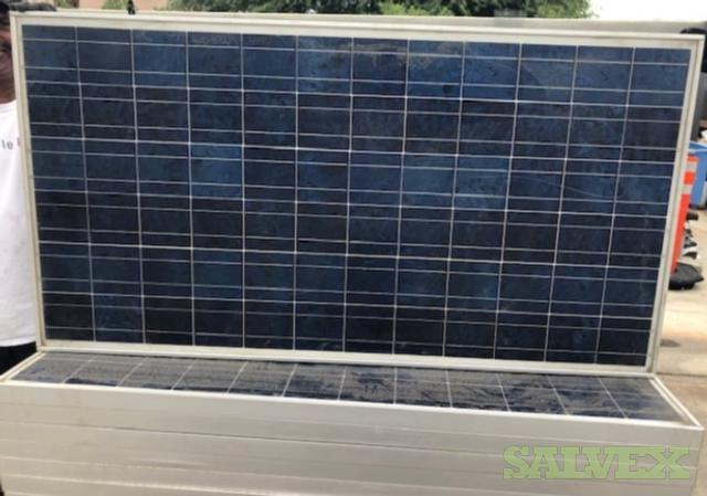 SHARP NE-Q5E2U 165W Solar Modules - Used