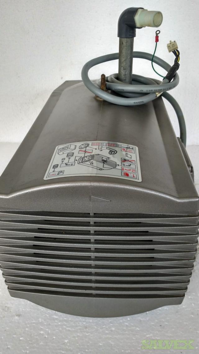 Daytona Carbonator Pump Motor,  Parvalux Gearboxes, Becker Vacuum Pump and CREO Exposure Head (5 items)
