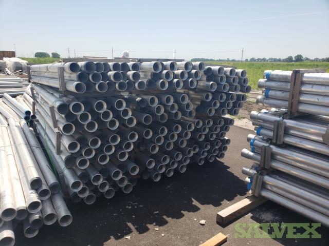 3 1/2 X 10' Aluminum Conduit 2,400'