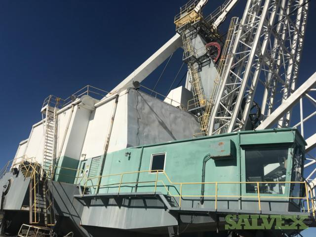 Marion 8050 Dragline Excavator - For Construction and Mining (325 ft Boom / 6.54 Million Lb Working Weight)