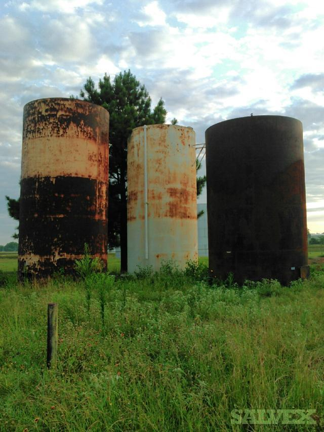 Storage Tanks and Associated Piping (Estimated 47,000 Lbs / 5 Tanks) in Texas