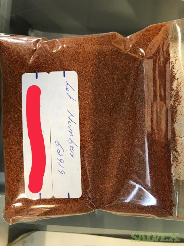 Various Spices: Ginger,Turmeric Ground, etc. (7,772 bags)