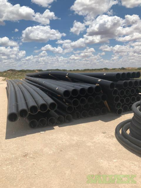 Polyethylene Plastic Pipe: 4 SDR 7, 6 SDR 7, 6SDR 11, 8 SDR 11 and 10 SDR 11 (20,100 ft)