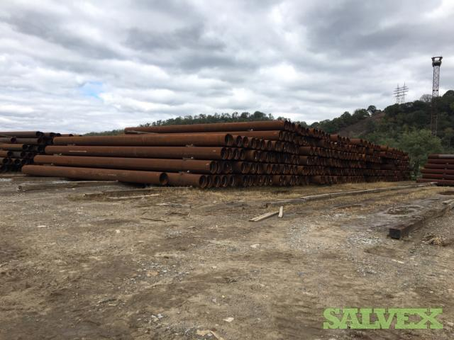 24 94.71# X65 ERW Surplus Line Pipe (45,840 Feet/ 1969.29 Metric Tons)