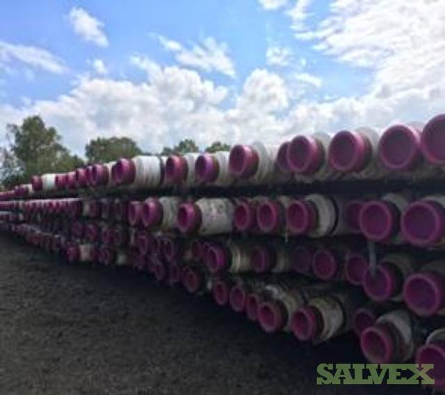 8 5/8 53.45# X65QOS 4LPPF SLMS Surplus Line Pipe (62,336 Feet / 1511.32 Metric Tons)