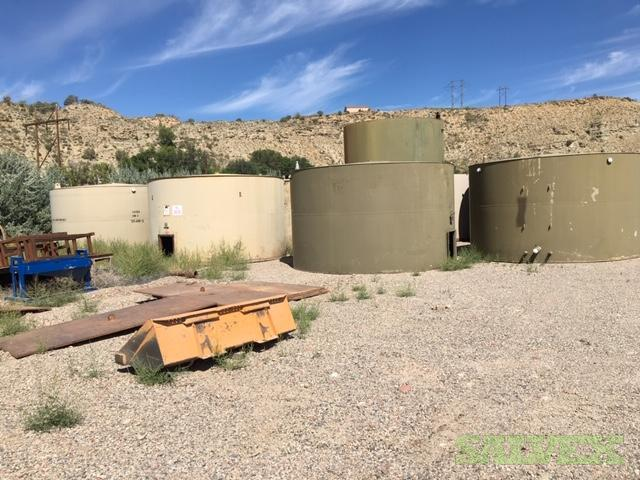 Welded Tanks: 110 BBL, 300 BBL and 400 BBL (18 Units)